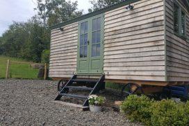 Shepherd Hut in June