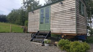 Shepherd Hut in June