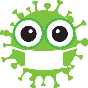 cartoon virus graphic