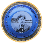 Dylan Thomas Trail plaque